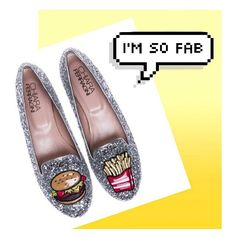 "Yesss fab and yummie! @the.wo ""Burger and fries"" silver glitter slippers for this Chiara Ferragni summer! Available online on www.chiaraferragnicollection.com #chiaraferragnishoes"