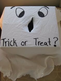 Scary Halloween game would be fun for trick-or-treaters at your door.