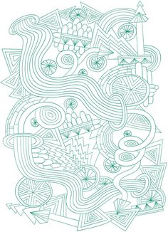 free coloring page from Colortwist Coloring Book