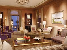 """Every single POTUS since our 27th president, William Howard Taft, has made this hotel their """"San Francisco residence,"""" according to the Fairmont. And legend has it that JFK used a secret doorway to welcome a certain starlet to his suite when he stayed there."""
