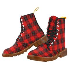 Tartan Boot – MacIver Modern Martin Boot – Your Tartan White Doc Martens, Doc Martens Style, Doc Martens Outfit, Doc Martens Boots, Winter Socks, Winter Wear, Floral Combat Boots, Large Leather Tote Bag, Shoe Company
