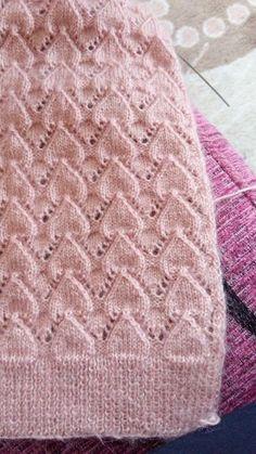 Best 10 – Page 291537775877278316 – SkillOfKing. Lace Knitting Stitches, Knitting Patterns Boys, Knitting Designs, Baby Knitting, Crochet Vest Pattern, Crochet Baby Clothes, Knitted Baby Blankets, Stitch Patterns, Couture