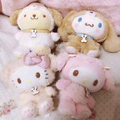 Cute Stuffed Animals, Cute Animals, Sock Animals, Sanrio Danshi, Kawaii Room, Cute Plush, Sanrio Characters, Sanrio Hello Kitty, Plush Dolls