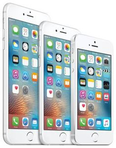 iPhone family - image credit: Apple Inc.