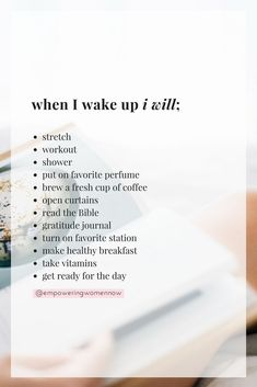 Love this self care routine to keep you healthy!