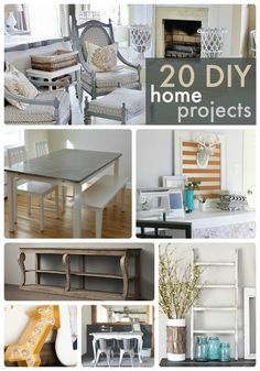 DIY home projects. Get started on your next home projects today!