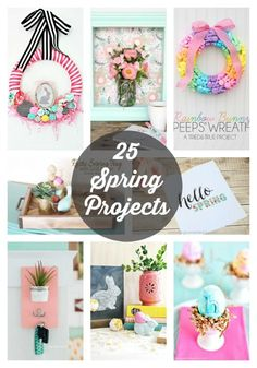 25 Spring Projects to DIY