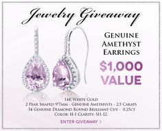 Mommytasking: Enter Holsted Jewelers​ Amethyst Earrings #Giveaway #contest