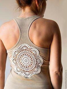 Regatas com Detalhes em Crochet