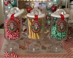 1:12 DOLLHOUSE MINIATURE Christmas ORNAMENTS by BakingInMiniature