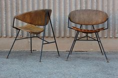 Set of four lounge chairs by Arthur Umanoff image 6