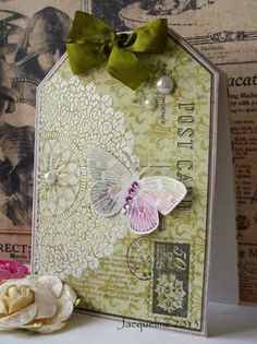 Jacqueline's Craft Nest: Simple nature cards