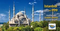 Take in the city's stunning landmarks on our Istanbul sightseeing city tours including Blue Mosque & the Basilica Cistern. Book Istanbul tours today with Big Bus. Hotel Istanbul, Istanbul Travel, Pamukkale, Hotel Specials, Blue Mosque, European Vacation, Turkey Travel, Park Hotel, Air France
