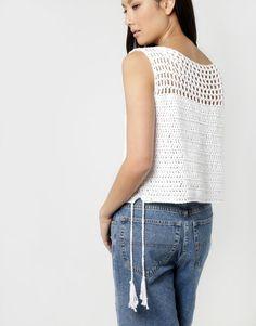 One Love Top   Crochet it   woolandthegang.com