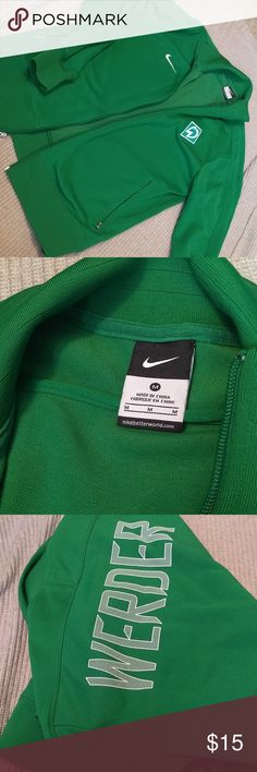 Nike soccer jacket Lime green jacket. It's in great condition. Nike Jackets & Coats