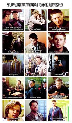 Supernatural One-Liners
