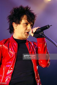 Indochine during 2003 Solidays Festival - Indochine in Concert at Hippodrome de longchamp in Paris, France.