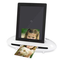 The Photo To iPad Scanning Dock - Hammacher Schlemmer
