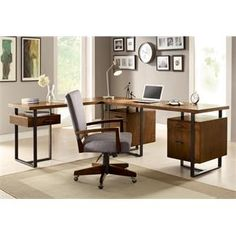Cantata 54 Inch Flat Top Computer Desk | Shopping In Riverside Furniture  Home Office | Home Office | Pinterest | Flats, Desks And Furniture