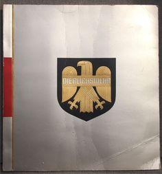 """Книга-альбом """"Рейхсвер - Die Reichswehr"""" 1933 год. Германия. 3 Рейх."""