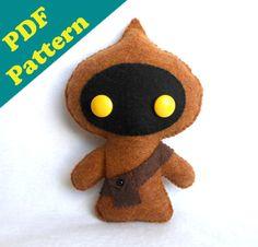 PDF PATTERN - Star Wars JAWA Plush Pattern (Digital Download)