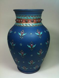 This vase became a Christmas gift from a soldier in Afghanistan to his wife back home.