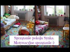 Sprzątanie pokoju Synka. Posprzątaj ze mną. Motywacyjne sprzątanie. - YouTube Toddler Bed, Youtube, Furniture, Home Decor, Child Bed, Interior Design, Home Interior Design, Youtubers, Arredamento