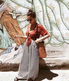 Blusa amarradinha e calça pantalona é puro amor   #WFTLifestyle