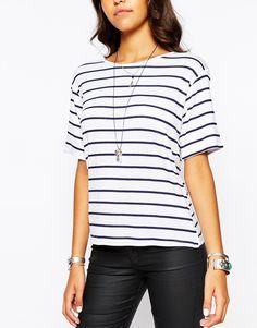 WISH LIST T-Shirt: Striped