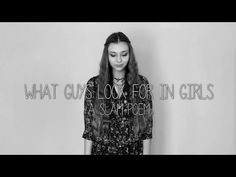 What Guys Look For In Girls - A Slam Poem - YouTube>>>>>WARCH THIS. GIRLS GUYS EVERYONE WATCHTHIS. IMCRYING.