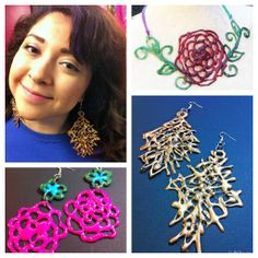 How to Make Hot Glue Jewelry! (video) | CraftyChica.com | Official site of award-winnning artist and novelist, Kathy Cano-Murillo.