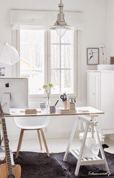 Blog de decoração Perfeita Ordem: Cavaletes ... Uma forma moderna, criativa e econômica de decorar a casa