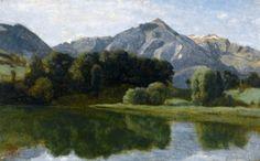 Lake Thun, 1842 - Jean-Baptiste-Camille Corot - The Athenaeum