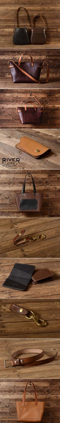 Get Inspired with River City Leather. #handmade