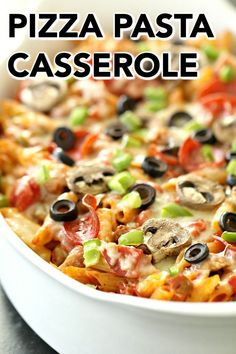 casserole favorite together toppings sisters family stuff pizza pasta mixed your with make this all Pizza Pasta Casserole Six Sisters Stuff All your favorite pizza toppings mixed together with pasYou can find Pizza casserole and more on our website Fun Pizza Recipes, Gourmet Recipes, Pasta Recipes, Cooking Recipes, Budget Recipes, Dinner Recipes, Monte Cristo Sandwich, Raspberry Bars, Cinnabon