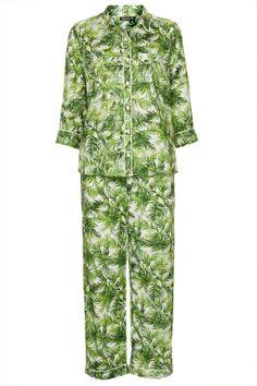 Palm Print Pyjama Set - Topshop USA