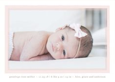 """""""Cotton Candy"""" birth announcement by Minted artist Lauren Chism. Shop unique designs from our community of independent artists. Baby Girl Birth Announcement, Birth Announcement Photos, Announcement Cards, Birth Announcements, Kids Stamps, Custom Stamps, Wedding Thank You Cards, Color Themes, Cotton Candy"""