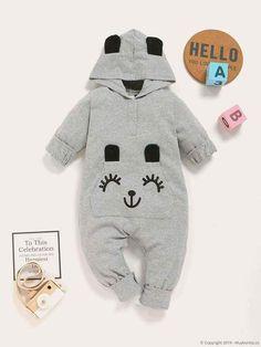 Baby Boy, Baby Outfits Newborn, Pop Fashion, Manga, Jumpsuit, Cartoon, Kids, Ear, Fictional Characters