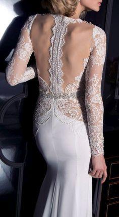Lace Bridal Gown / eisen stein