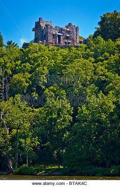 Connecticut River Gillette Castle State Stock Photos & Connecticut ...