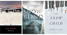Cold Books for Hot Days, includes Edith Wharton's, 'Ethan Frome