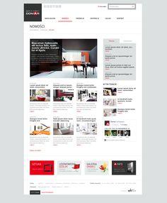 Domar by Lukas Bronisz, via Behance Website Design Inspiration, Best Website Design, Travel Website Design, Website Design Layout, Blog Layout, Web Layout, Layout Design, Ui Inspiration, Design Ideas