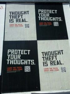 Inception Campaign using QR Codes