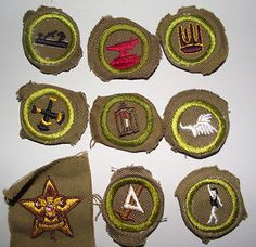Vintage Boy Scouts patches