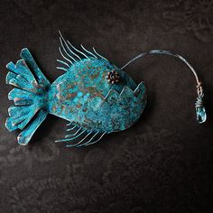 Magnificent unique artisan jewelry in copper by Maevsky Brooches Handmade, Handmade Jewelry, Unique Jewelry, Copper Jewelry, Jewlery, Copper Tubing, Nautical Jewelry, Dreamcatchers, Blacksmithing