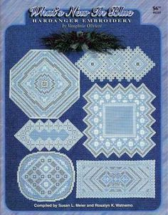 What's New in Blue (Hardanger embroidery) (COPY)