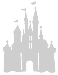Cinderella's Castle Pumpkin Stencil