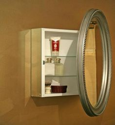 Round Medicine Cabinet #6 | Back To: How To Install Medicine Cabinet Mirror On A Wall