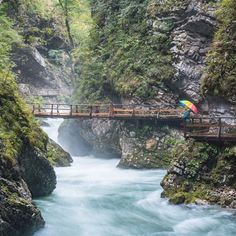 6 Spectacular Short Hikes in Slovenia : Vintgar Gorge, Slovenia by Wandering Wheatleys Bled Slovenia, Slovenia Travel, Visit Slovenia, Cool Places To Visit, Places To Go, Bohinj, Seen, Paragliding, Beautiful Places In The World