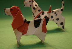 taro's origami dogs